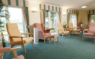 Sterilising UV light protects residents at Glenfields Care Home